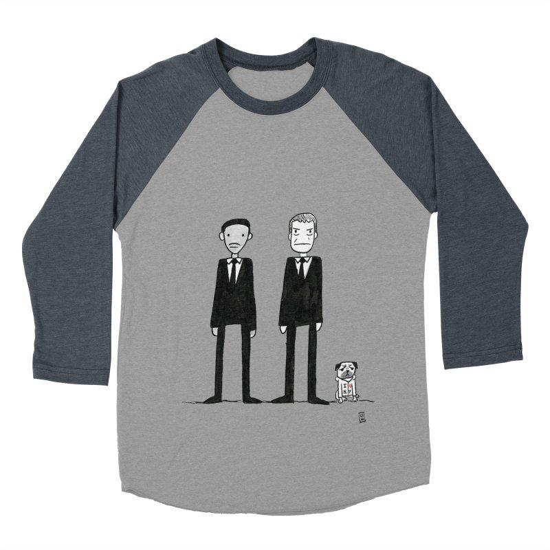 Jay, Kay and Frank Men's Baseball Triblend T-Shirt by Lee Draws Stuff