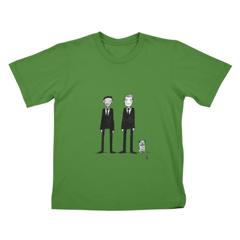 Jay, Kay and Frank Kids T-Shirt by Lee Draws Stuff