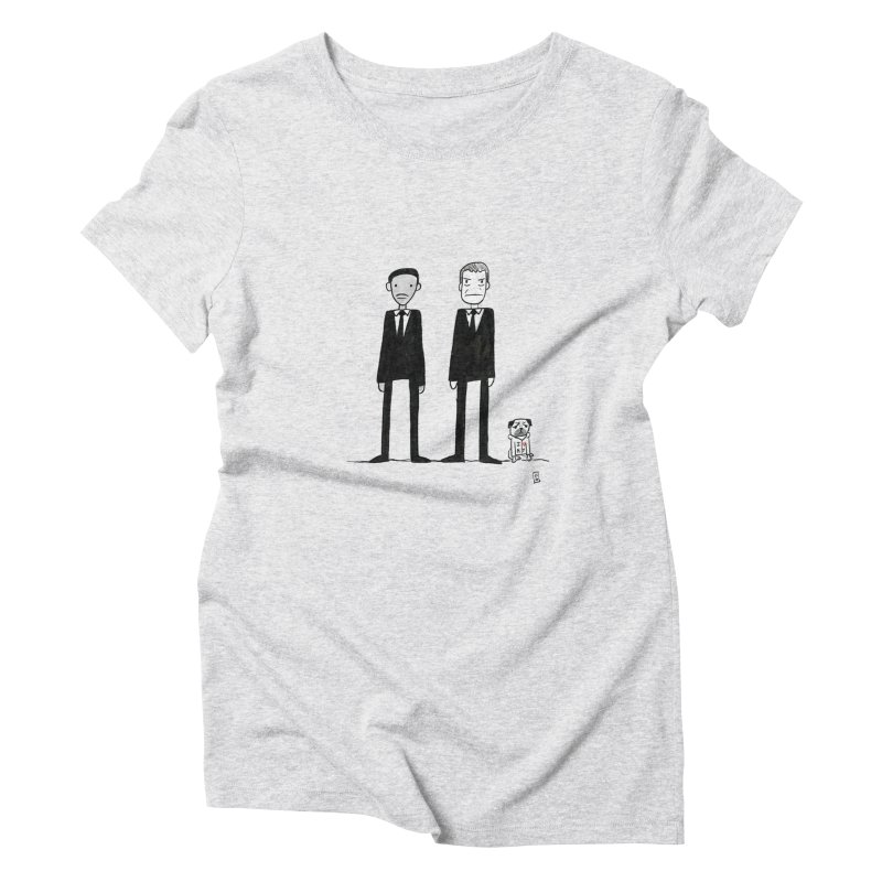 Jay, Kay and Frank Women's Triblend T-Shirt by Lee Draws Stuff