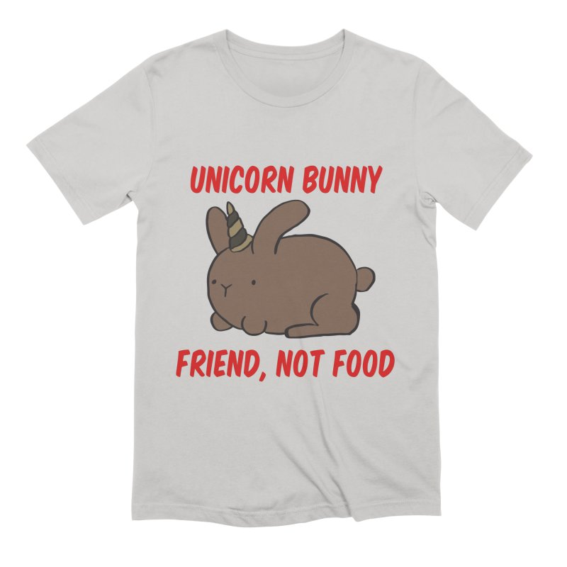 Friend not Food Men's T-Shirt by Lee Draws Stuff