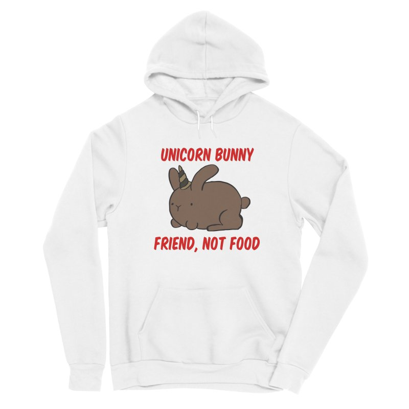 Friend not Food Men's Pullover Hoody by Lee Draws Stuff