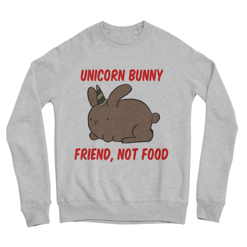 Friend not Food Men's Sweatshirt by Lee Draws Stuff