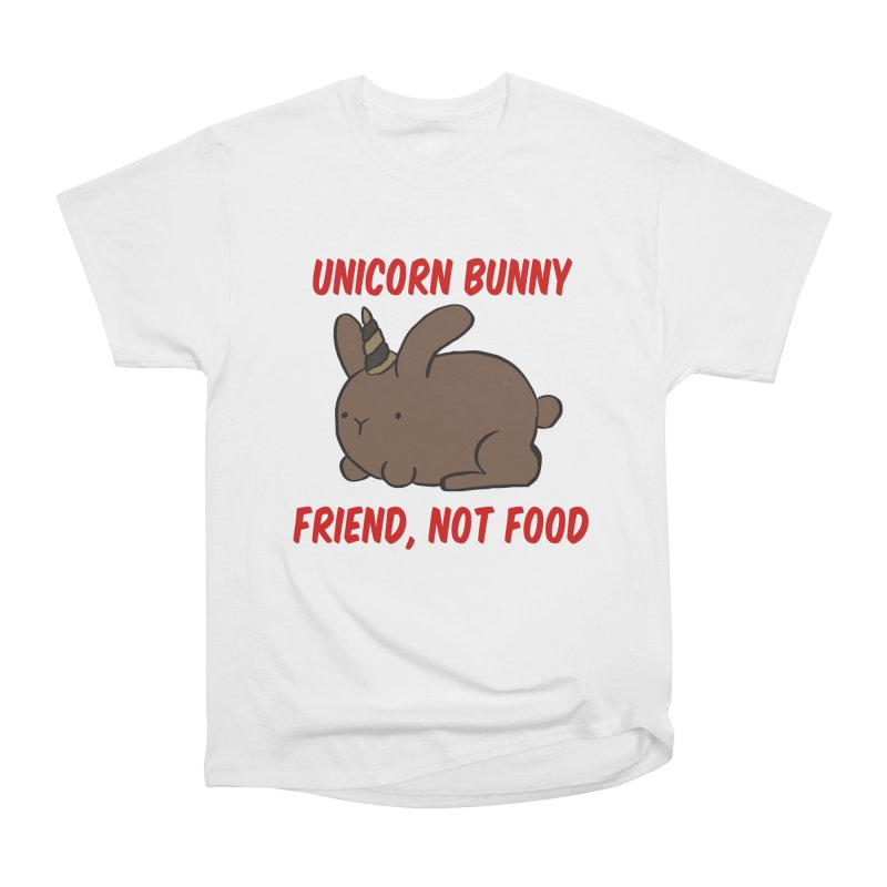 Friend not Food Men's T-Shirt by Lee Draws Stuff