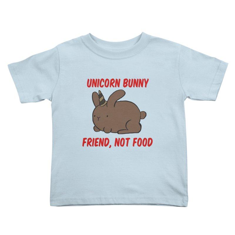 Friend not Food Kids Toddler T-Shirt by Lee Draws Stuff