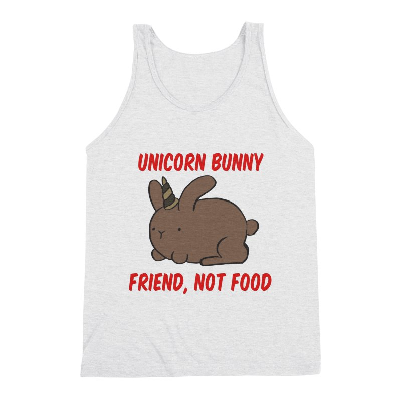 Friend not Food Men's Tank by Lee Draws Stuff