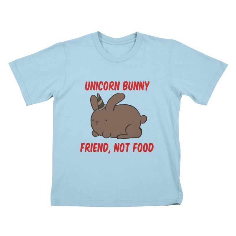 Friend not Food Kids T-Shirt by Lee Draws Stuff
