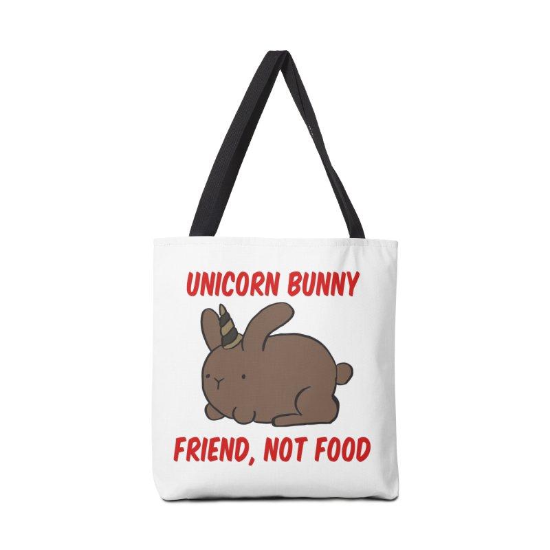 Friend not Food Accessories Bag by Lee Draws Stuff
