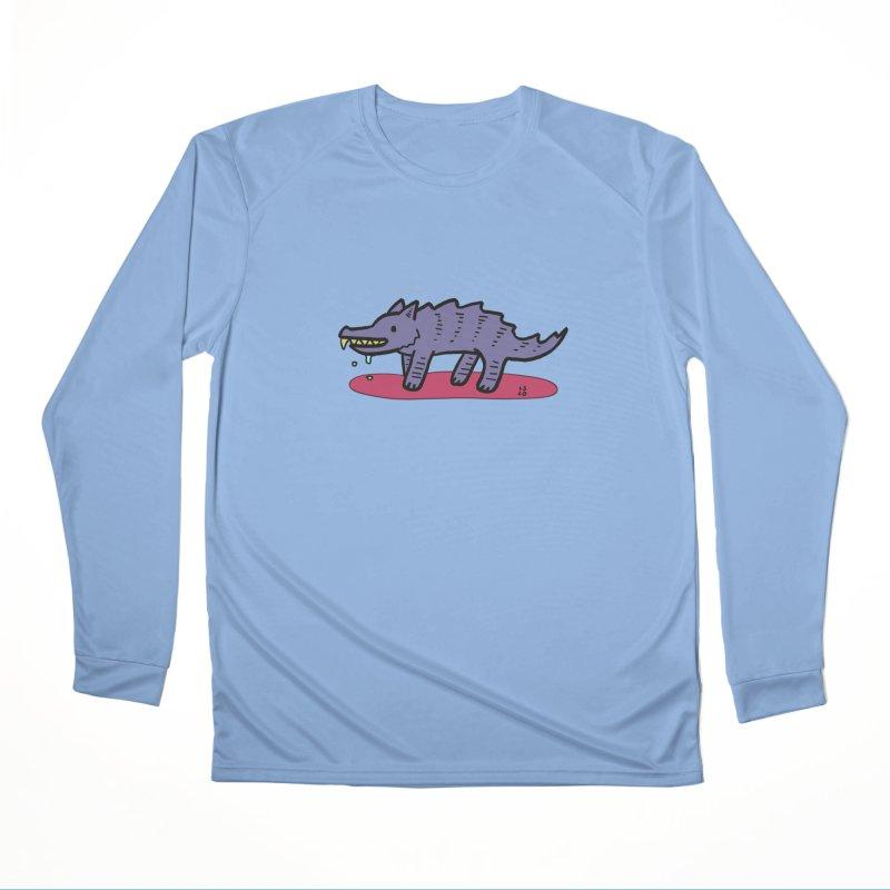 Feed him! Men's Longsleeve T-Shirt by Lee Draws Stuff