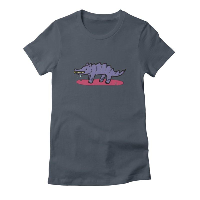 Feed him! Women's T-Shirt by Lee Draws Stuff