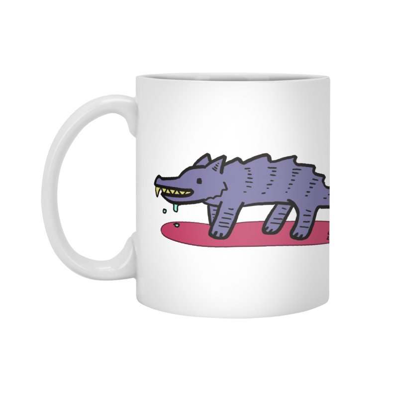 Feed him! Accessories Mug by Lee Draws Stuff