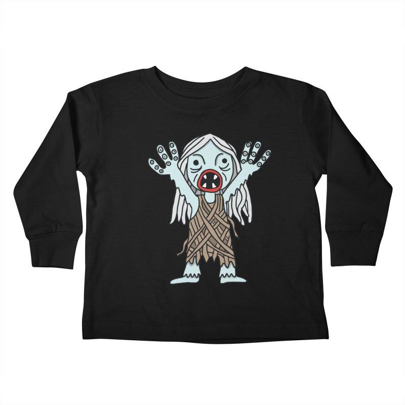 Salty Kids Toddler Longsleeve T-Shirt by Lee Draws Stuff