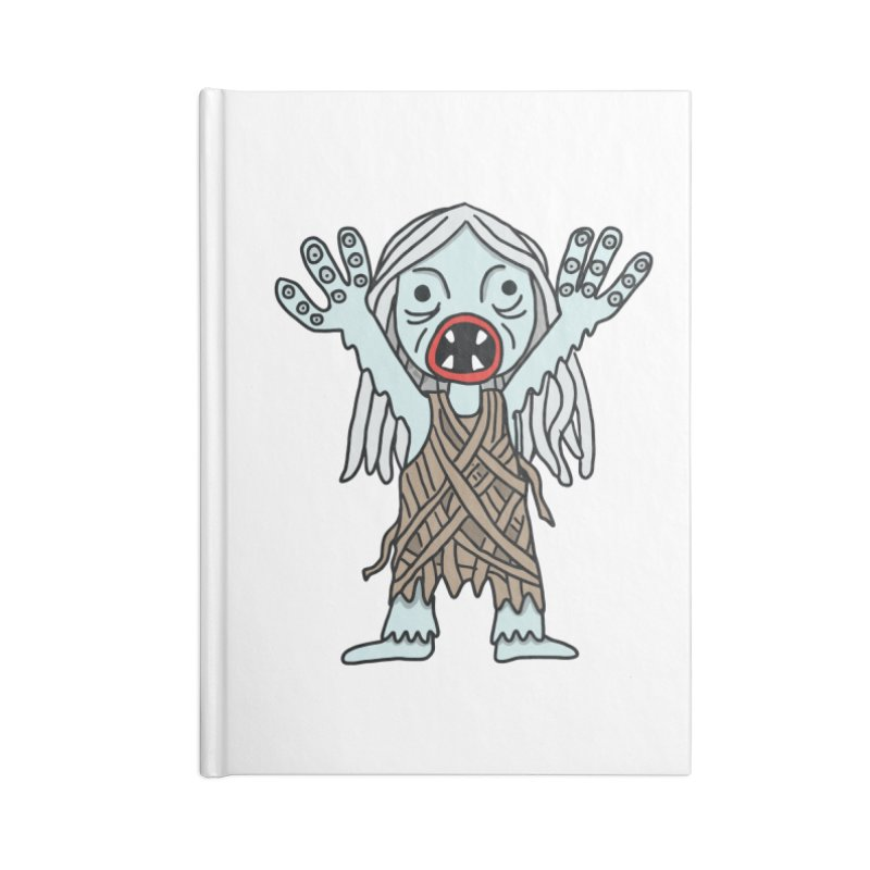 Salty Accessories Notebook by Lee Draws Stuff
