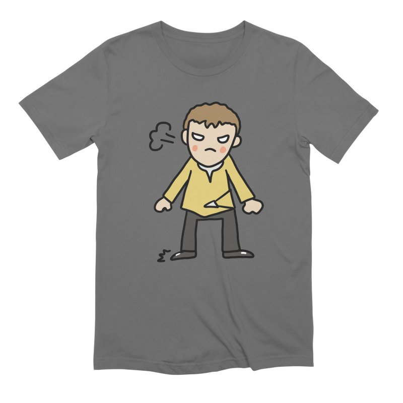Chuck X Men's T-Shirt by Lee Draws Stuff