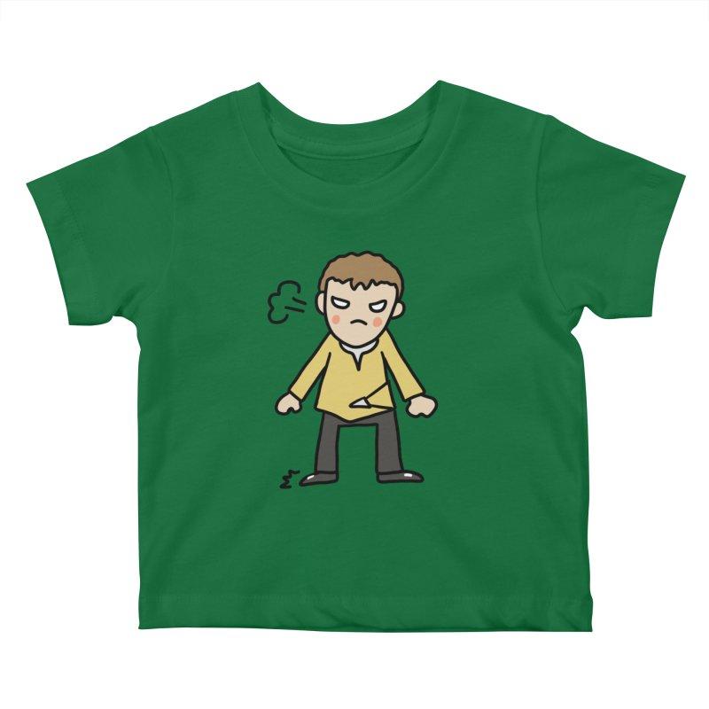 Chuck X Kids Baby T-Shirt by Lee Draws Stuff