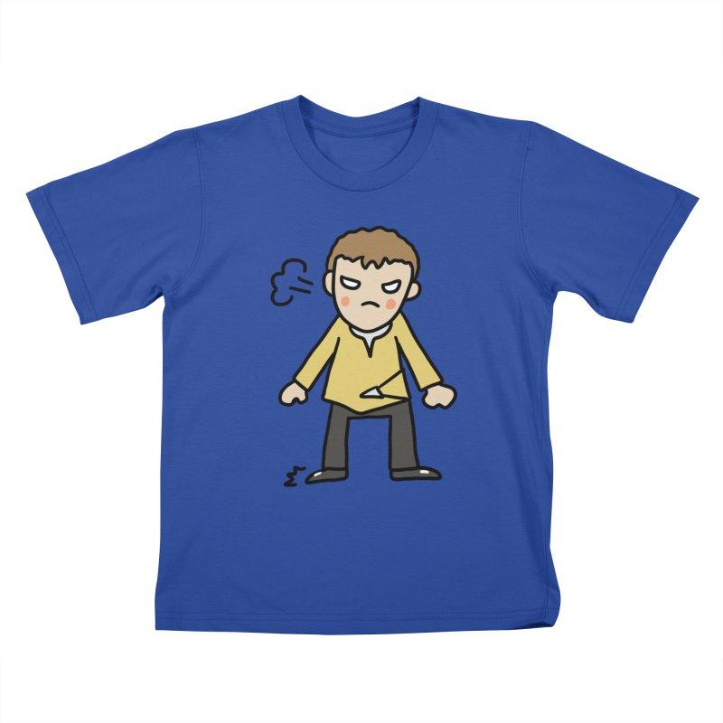 Chuck X Kids T-Shirt by Lee Draws Stuff