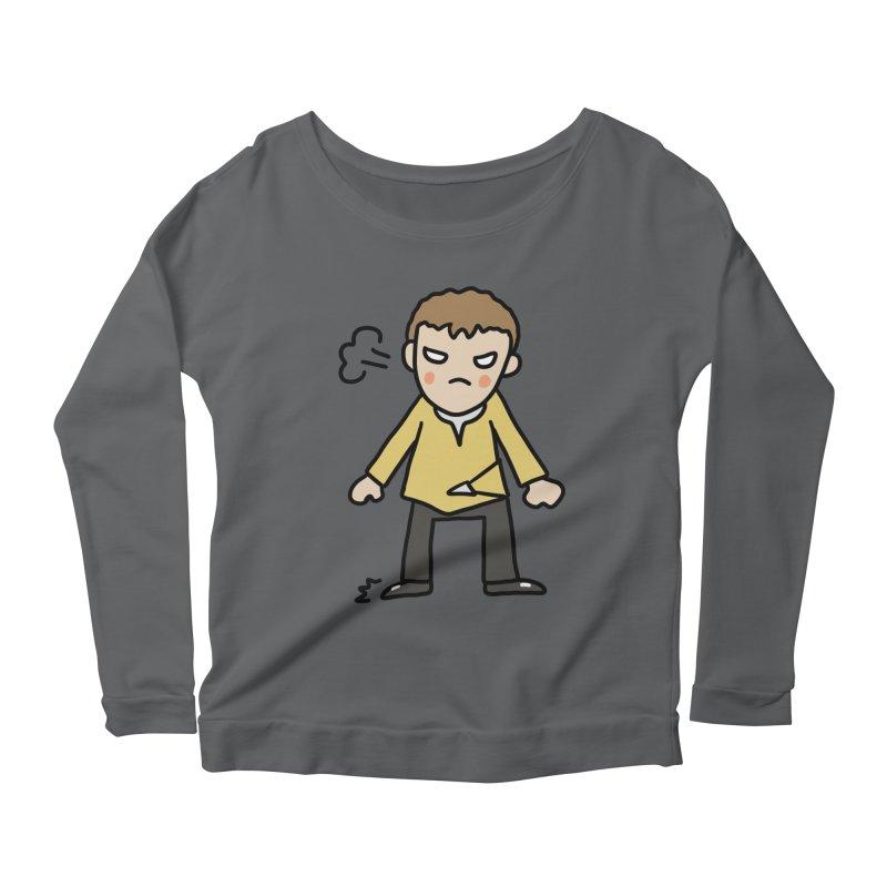 Chuck X Women's Longsleeve T-Shirt by Lee Draws Stuff