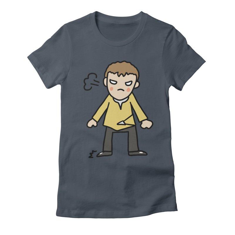Chuck X Women's T-Shirt by Lee Draws Stuff