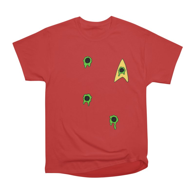 Red Shirt - Vulcan Women's Classic Unisex T-Shirt by Lee Draws Stuff