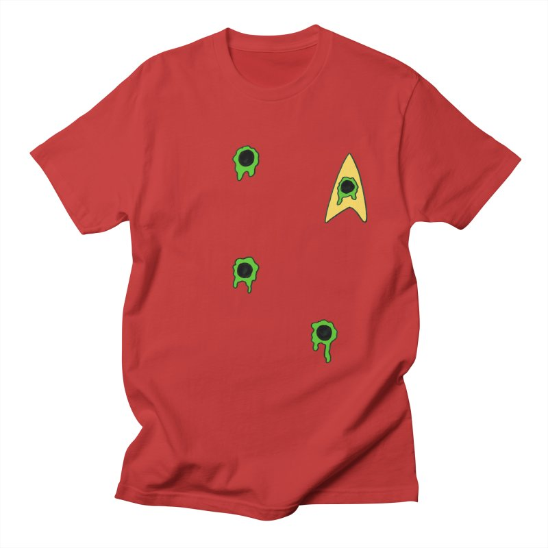 Red Shirt - Vulcan Women's Regular Unisex T-Shirt by Lee Draws Stuff