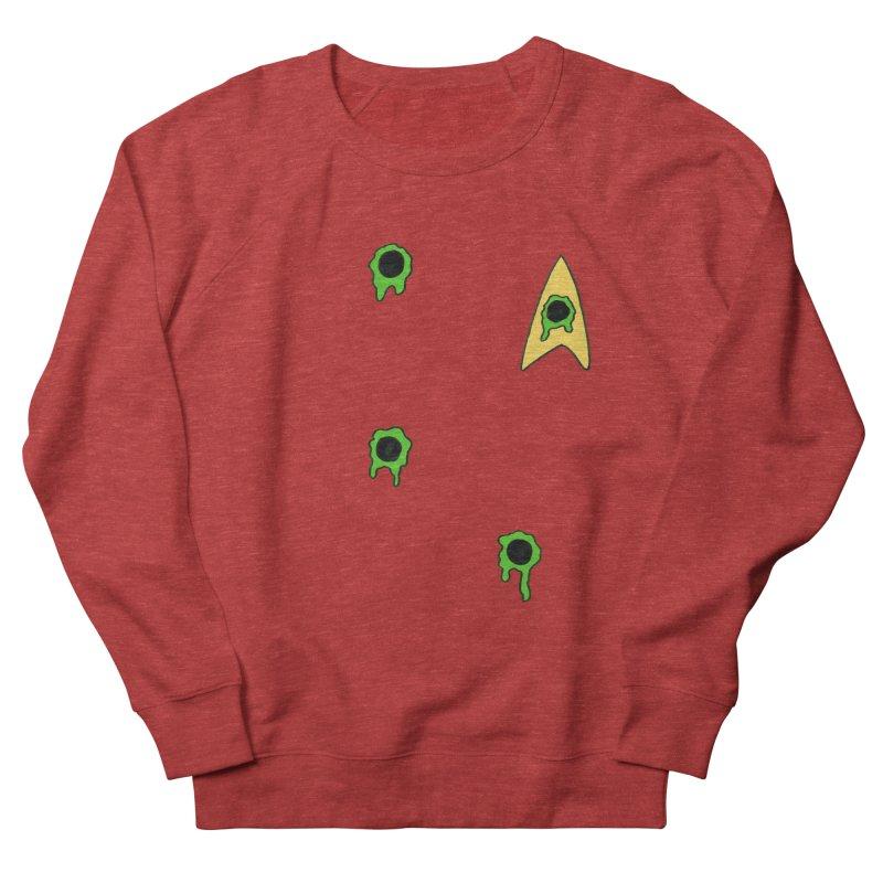 Red Shirt - Vulcan Women's French Terry Sweatshirt by Lee Draws Stuff