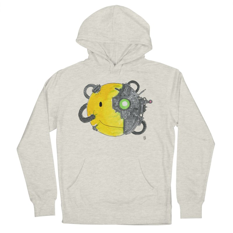 Don't Worry Be Assimilated. Women's French Terry Pullover Hoody by Lee Draws Stuff