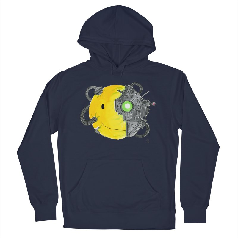 Don't Worry Be Assimilated. Men's Pullover Hoody by Lee Draws Stuff