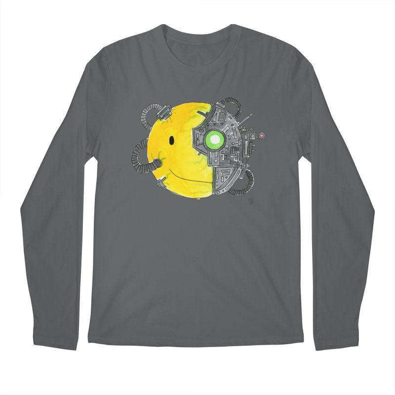 Don't Worry Be Assimilated. Men's Longsleeve T-Shirt by Lee Draws Stuff