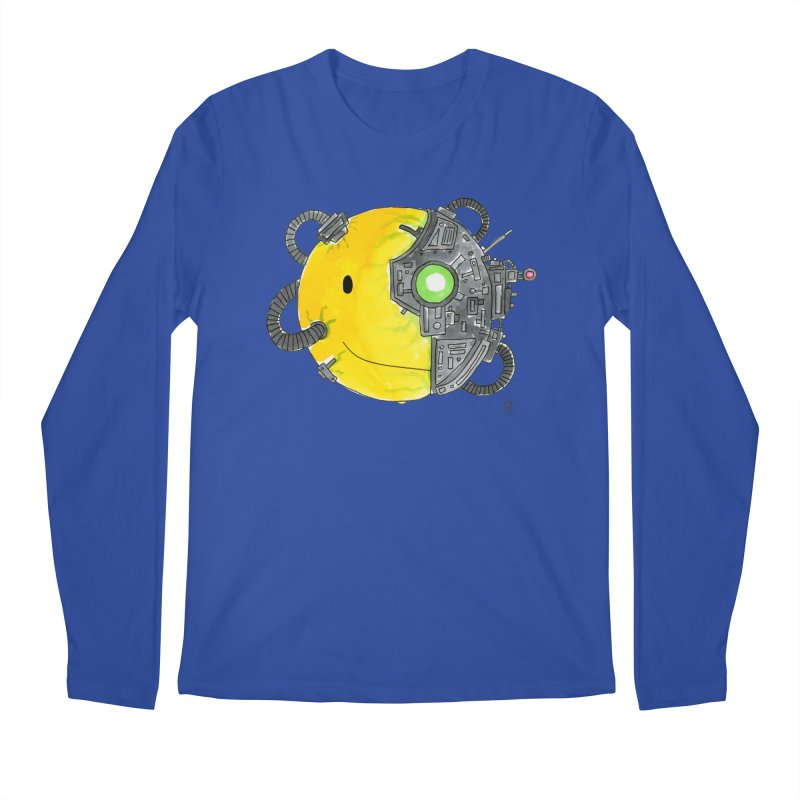 Don't Worry Be Assimilated. Men's Regular Longsleeve T-Shirt by Lee Draws Stuff
