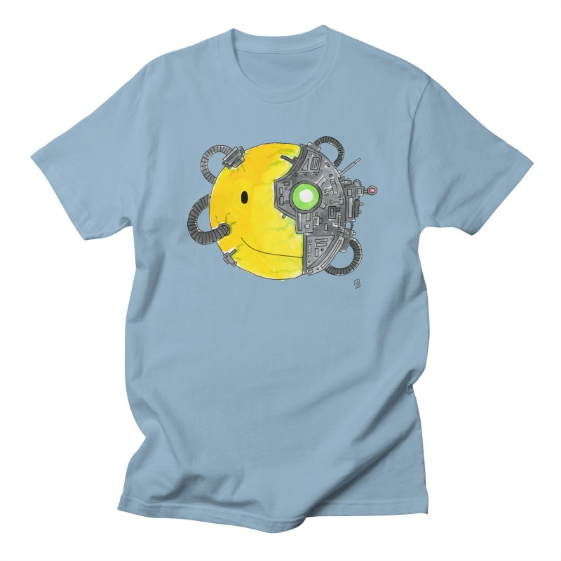 Don't Worry Be Assimilated. Women's Unisex T-Shirt by Lee Draws Stuff