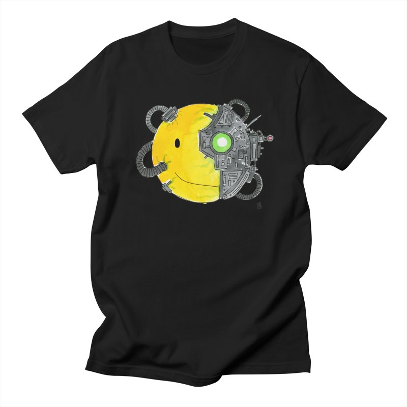 Don't Worry Be Assimilated. Men's Regular T-Shirt by Lee Draws Stuff