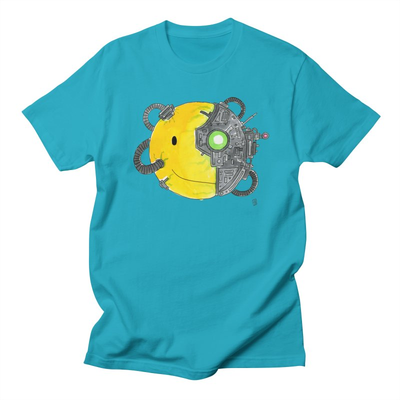 Don't Worry Be Assimilated. Men's T-Shirt by Lee Draws Stuff