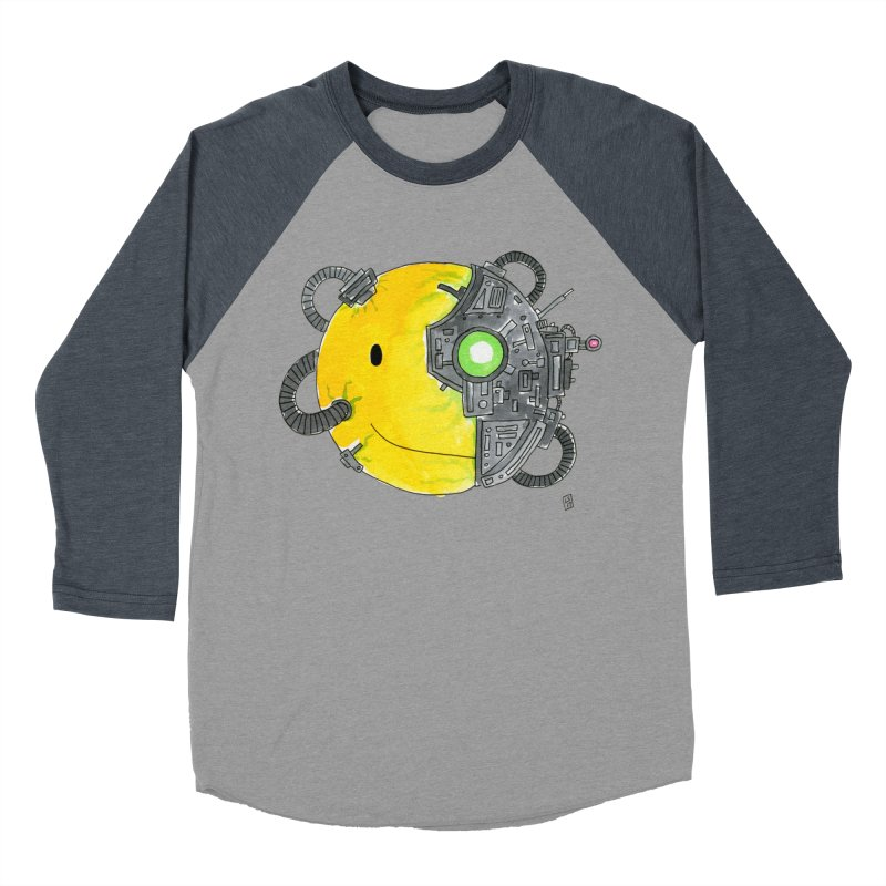 Don't Worry Be Assimilated. Women's Baseball Triblend Longsleeve T-Shirt by Lee Draws Stuff