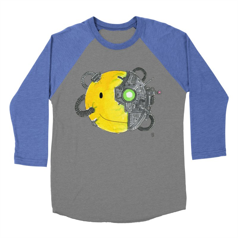 Don't Worry Be Assimilated. Men's Baseball Triblend T-Shirt by Lee Draws Stuff