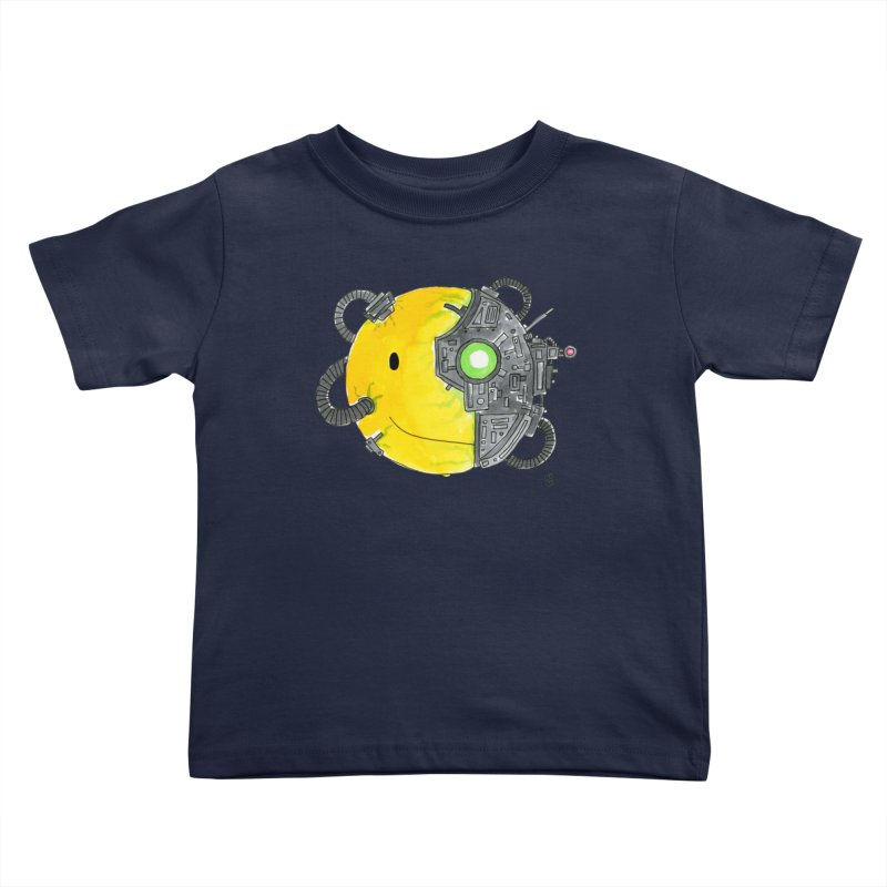 Don't Worry Be Assimilated. Kids Toddler T-Shirt by Lee Draws Stuff