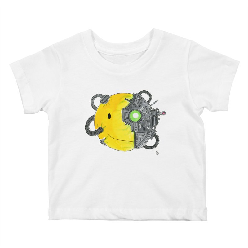 Don't Worry Be Assimilated. Kids Baby T-Shirt by Lee Draws Stuff