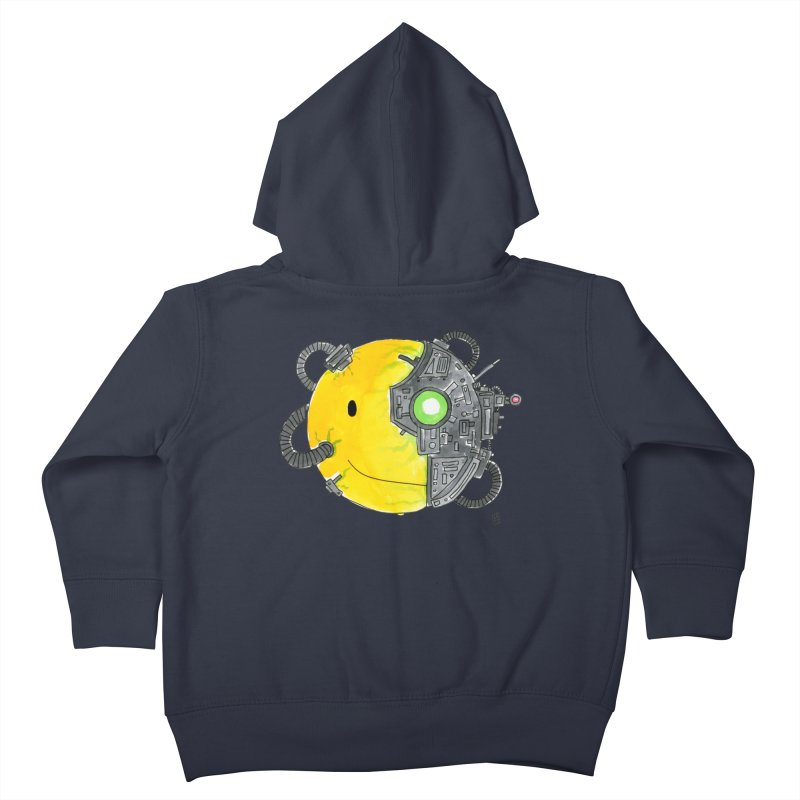 Don't Worry Be Assimilated. Kids Toddler Zip-Up Hoody by Lee Draws Stuff