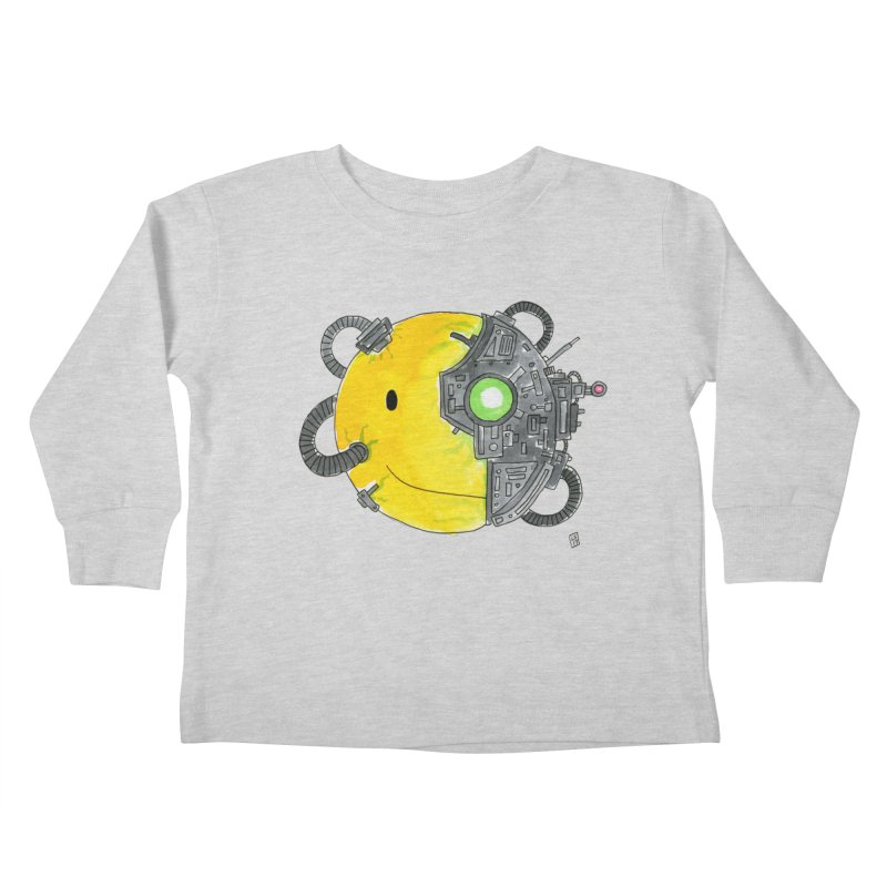 Don't Worry Be Assimilated. Kids Toddler Longsleeve T-Shirt by Lee Draws Stuff