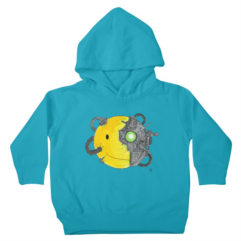 Don't Worry Be Assimilated. Kids Toddler Pullover Hoody by Lee Draws Stuff