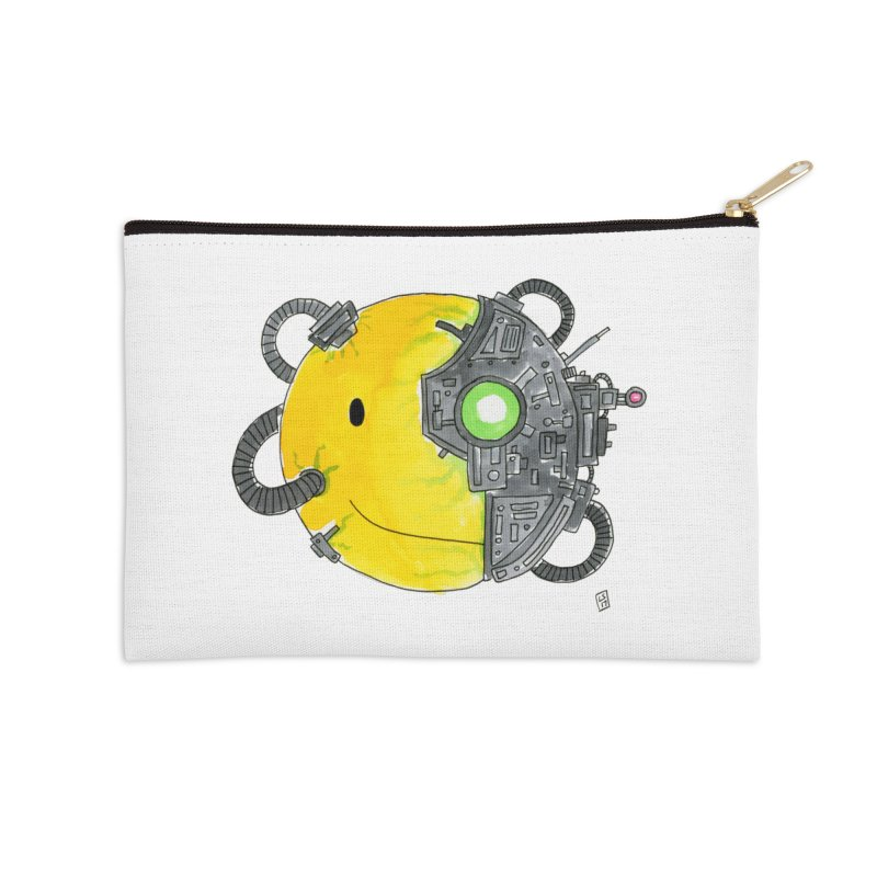 Don't Worry Be Assimilated. Accessories Zip Pouch by Lee Draws Stuff