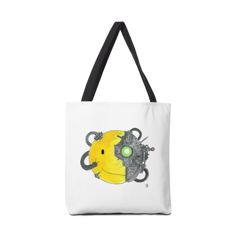 Don't Worry Be Assimilated. Accessories Bag by Lee Draws Stuff