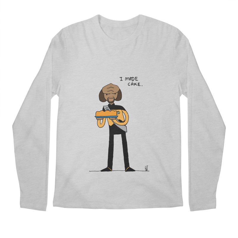 Perhaps today is a good day to bake. Men's Longsleeve T-Shirt by Lee Draws Stuff