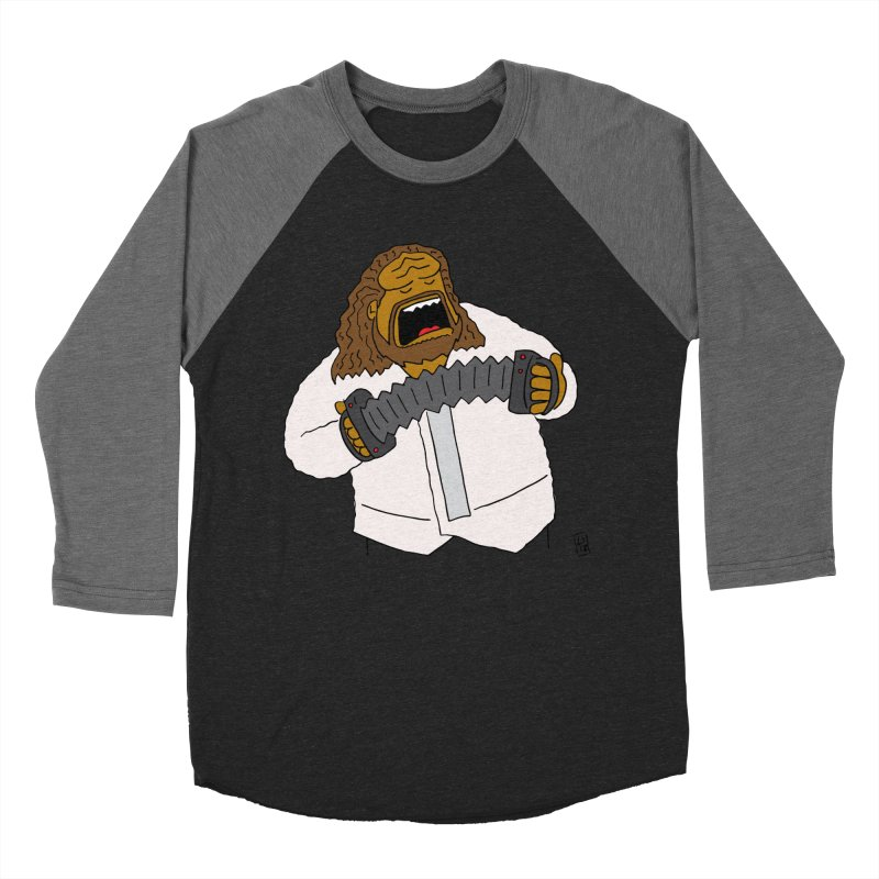 Perhaps today is a good day to dine! Women's Baseball Triblend Longsleeve T-Shirt by Lee Draws Stuff
