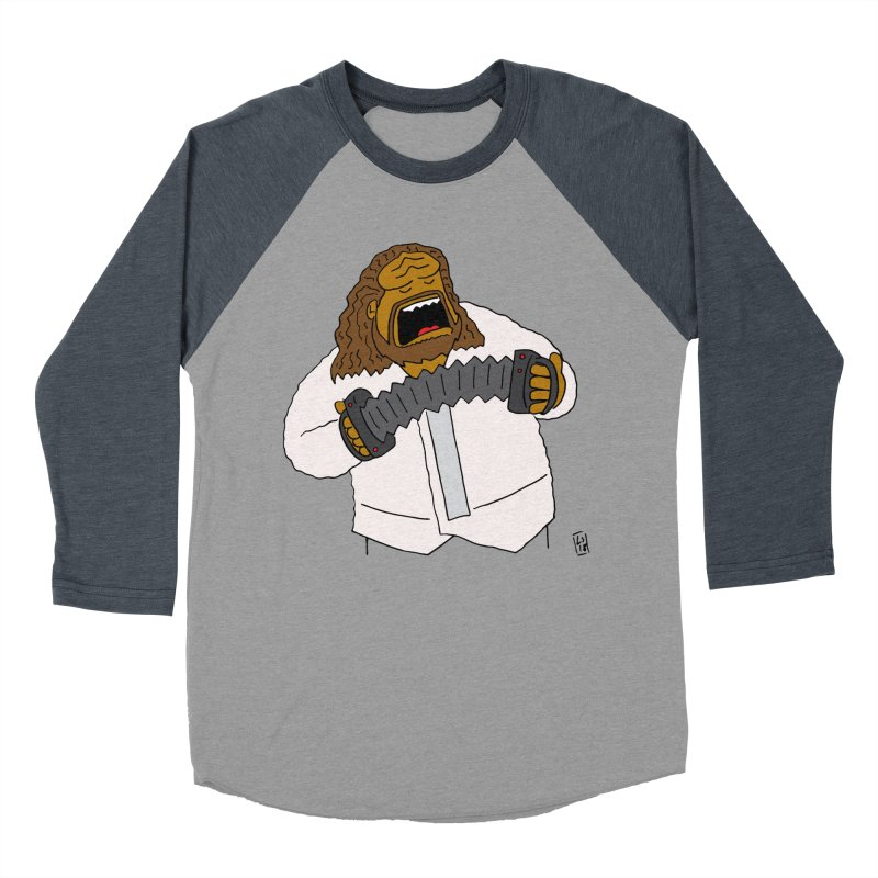 Perhaps today is a good day to dine! Men's Baseball Triblend Longsleeve T-Shirt by Lee Draws Stuff