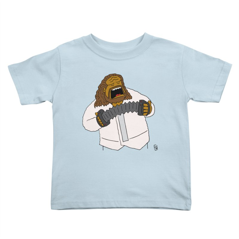 Perhaps today is a good day to dine! Kids Toddler T-Shirt by Lee Draws Stuff