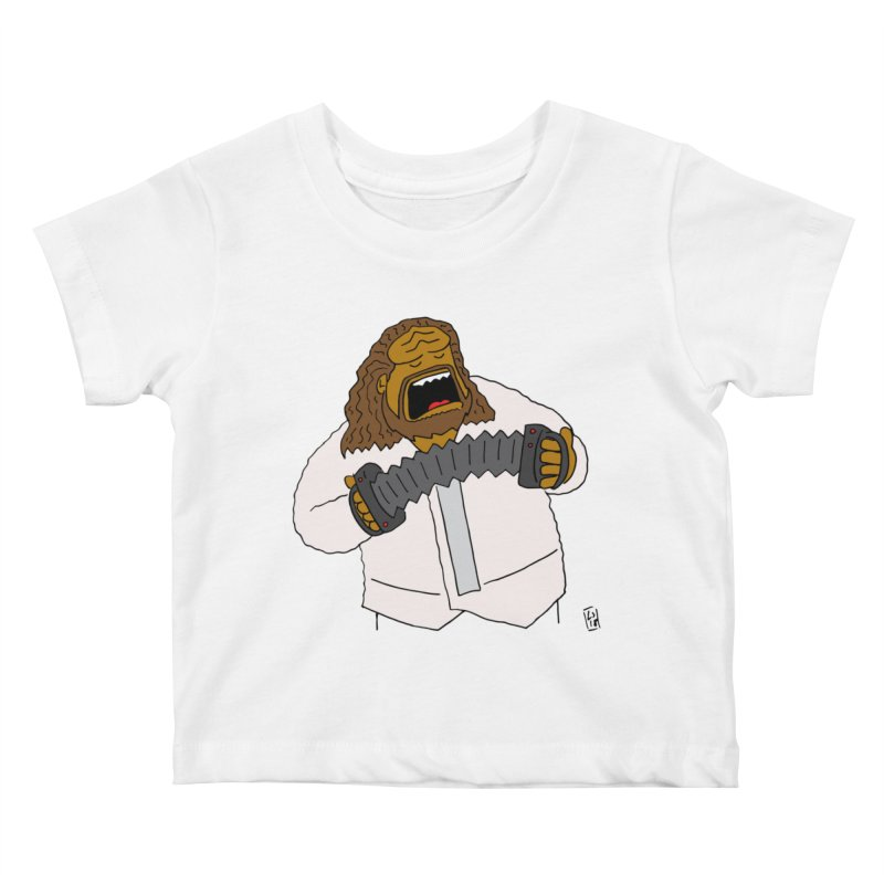 Perhaps today is a good day to dine! Kids Baby T-Shirt by Lee Draws Stuff