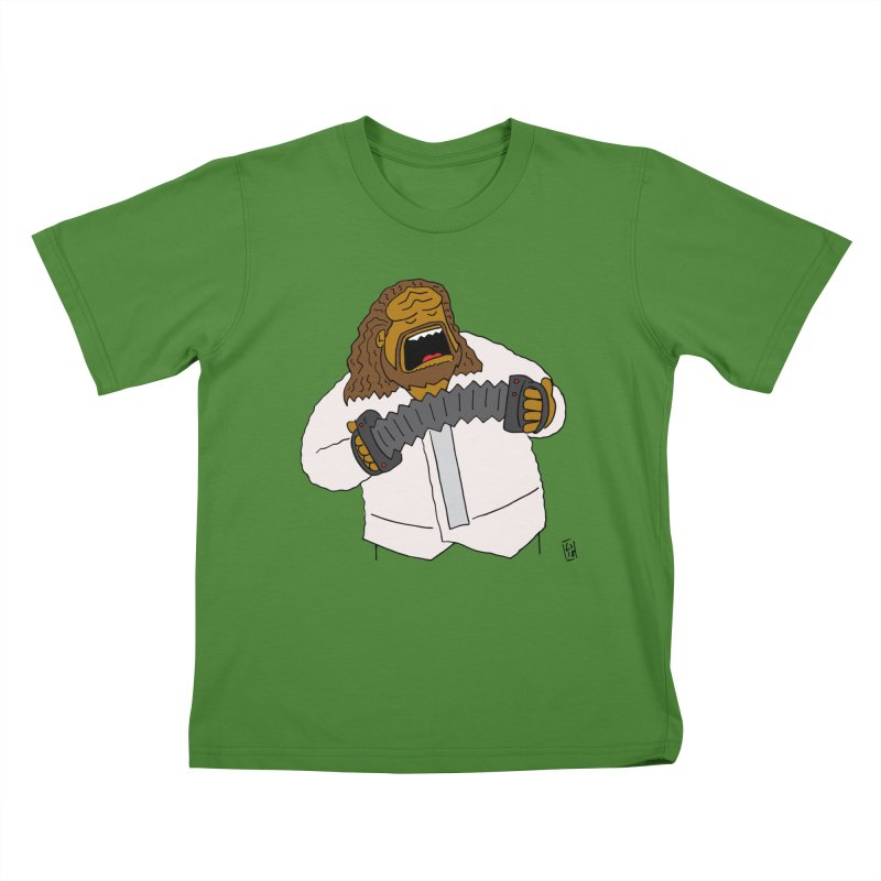Perhaps today is a good day to dine! Kids T-Shirt by Lee Draws Stuff