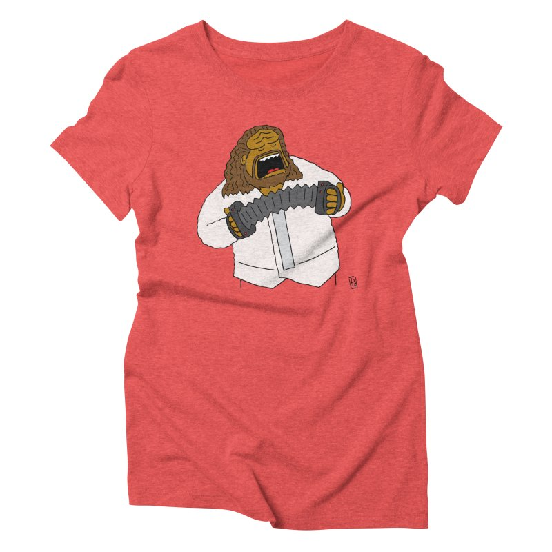 Perhaps today is a good day to dine! Women's Triblend T-Shirt by Lee Draws Stuff