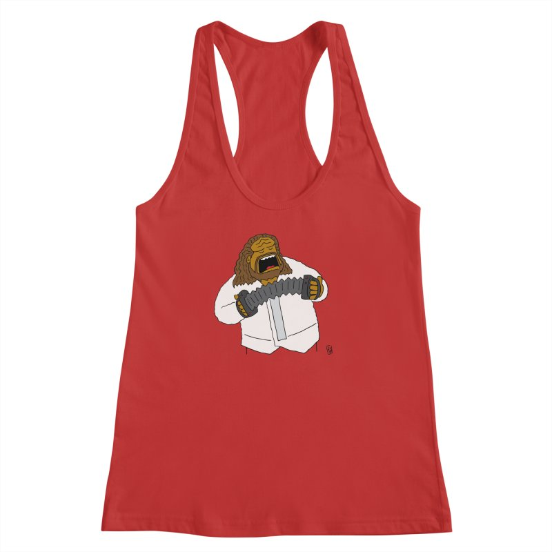 Perhaps today is a good day to dine! Women's Racerback Tank by Lee Draws Stuff