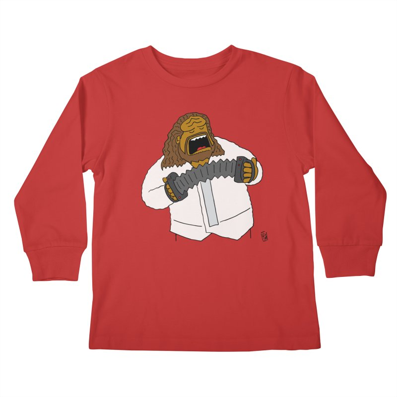 Perhaps today is a good day to dine! Kids Longsleeve T-Shirt by Lee Draws Stuff