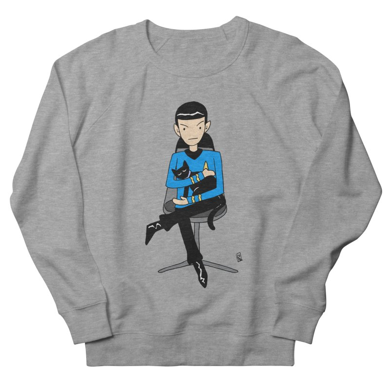 Live Long and Pawspurr Women's French Terry Sweatshirt by Lee Draws Stuff